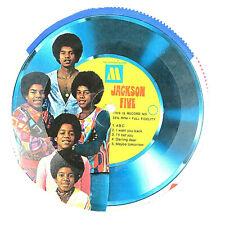 """Jackson 5 Five - 6"""" Picture Disc Cereal Box - 1960's Motown Michael Jackson VTG"""