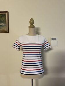 APC Womens Striped French T Shirt Size XS/ Au 6