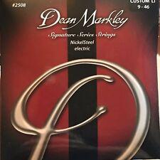 Dean Markley 2508 Signature Series NickelSteel Electric Guitar Strings Custom LT