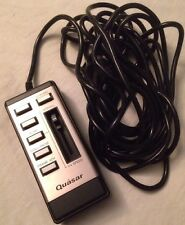 Quasar Special Effects Remote Control TV/VCR Wired Made In Japan 8 Prong Plug