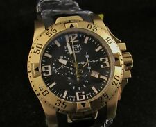Invicta Reserve Excursion Swiss Made Gold Chronograph Poly Strap Watch