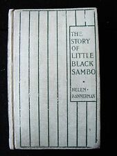 STORY OF LITTLE BLACK SAMBO Helen Bannerman illustrated Grant Richards 1900