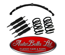 CLASSIC FIAT 500 COMPLETE SUSPENSION KIT SPRINGS LEAF SPRING SHOCK ABSORBERS NEW