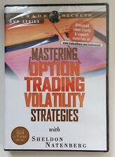 *RARE* MASTERING OPTION TRADING VOLATILITY STRATEGIES by Sheldon Natenberg *DVD*