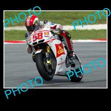 MARCO SIMONCELLI MOTO GP CHAMPION LARGE ACTION PHOTO 3