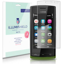 iLLumiShield Matte Screen Protector w Anti-Glare/Print 3x for Nokia 500