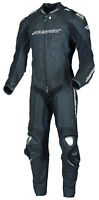 New AGVsport Podium One Peice Leather Race Suit CE Armour YKK zips