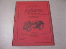 Massey Ferguson 55 Diesel Tractor Repair Parts List FORM NO. 690 146 M1