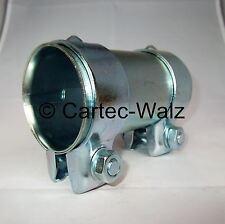 Connecteur de tuyau d'échappement / RACCORD / Collier double 70 x 125 mm