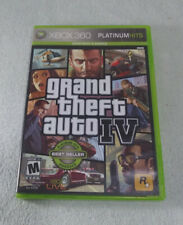 GRAND THEFT AUTO IV - X-BOX 360 VIDEO GAME [2010] ~USED~