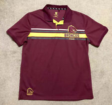 NRL Supporter Brisbane Broncos Australian Rugby Jersey/ Shirt Men's Large