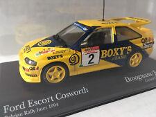 1:43 Minichamps Ford Escort Cosworth Boxy Droogmans 1994