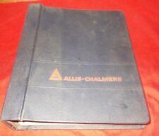 Allis Chalmers  12G Crawler Loader  (Set of 8 Service Manuals w/ binder)