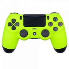 Lime Yellow Soft Touch Front Housing Shell Faceplate for PS4 Slim Pro Controller