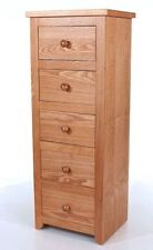 More than 200cm Height Ash Modern Chests of Drawers