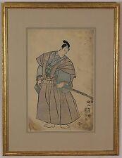 Utagawa Kuniyoshi (Japanese 1797-1861 ) Woodblock Print Rare Edo