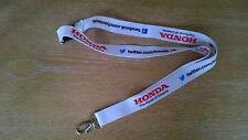 Honda Yuasa The Power of Dreams lanyard BTCC F1 BSB