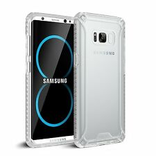 Samsung Galaxy S8 Poetic [Affinity Series] Shockproof Case TPU Cover Clear