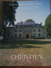1998 Christies Auction Catalogue CHATEAU FERNEY VOLTAIRE FRANCE Furniture & Art