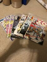 X-O MANOWAR #8 14x2 15 18 19 20 Valiant VF/NM 9.0-9.8 SET Original Owned
