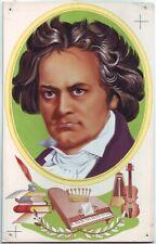 Original Bild Gemälde Zeichnung 5 Acryl Gouache Airbrush? Beethoven Musiker