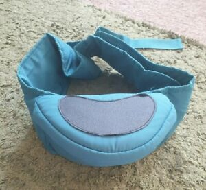 Hippychick teal blue hip seat carrier