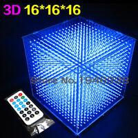DIY 3D16 LED Cube 16*16*16  CUBE 16 Kits/Junior Christmas Gift
