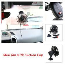 12V Portable Car Truck dashboard Fan Vehicle Auto Cooling W/ Cigarette Lighter