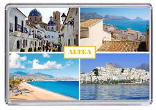 Altea Costa Brava Spain Fridge Magnet 01