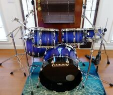 Ludwig Drum set 70's Shells Restomod with Hi-hat,snare, and cymbal stands