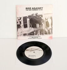 """RISE AGAINST the eco-terrorist , about damn time 7"""" Vinyl Record w/ will potter"""