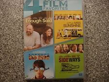 Enough Said/Little Miss unshine/Sidways/The Way, Way Back ~ DVD Movie ~ Rare Set
