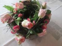 Frühling Türkranz Wandkranz 32 cm Kranz Tischdekoration Ostern