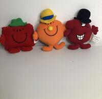 """Mr Men 1999 McDonald's 5"""" Toys Bundle By Roger Hargreaves - Vintage (64)"""