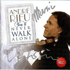 Andre Rieu signed/autographed cd album- You'll Never Walk Alone
