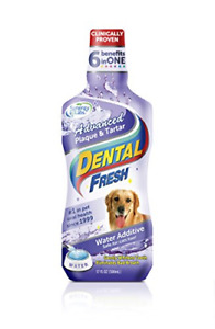 Dental Fresh Water Additive – Advanced Plaque and Tartar Formula for Dogs – Add