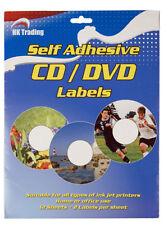 100 CD DVD Labels Matt Inline Self Adhesive Neato Style Fast DISPATCH P P
