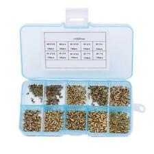 Tubular Rivet M0.9-M1.7 Mix Circuit PCB Nails Copper Board Hollow Rivet Nuts Kit