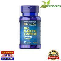 NAC N-ACETYL CYSTEINE 600 Mg 30 CAPSULES FRESHEST AMINO ACID SUPPLEMENT IMMUNITY