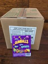 Case of 850 count Nerds gumballs for gumball candy bulk vending machines