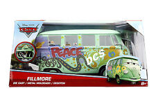 JADA DISNEY PIXAR CARS FILLMORE 1/24 DIECAST CAR LIGHT GREEN 98202
