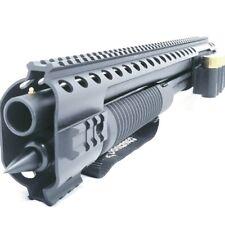 Black Aces Tactical Quad Rail w/ Shell Holder & Spike - Fits Mossberg Shockwave