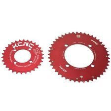 KCNC CNC 7075 Alloy Chainring Set 45-30T, BCD 104-64mm, Red