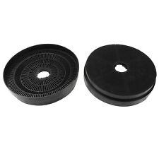 2 x CARBONE four filtres hotte cuisinière pour BAUMATIC xst1 f90.2bl, f90.2ss