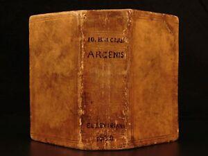 1630 John Barclay Argenis Scottish Literature Elzevier Religion Wars Politics