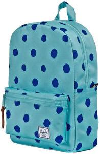 Zaino Uomo Donna Herschel Settlement Backpack Youth Teal Cobalt Polka Dot Pois 1