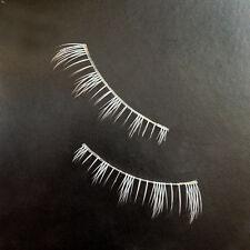 White Eyelashes Cosplay Makeup Cross Strip False Eye Lashes Us Warehouse