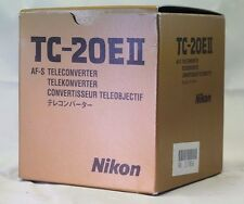 Empty Box for Nikon TC-20E II  F (Ai)  lens manual focus Teleconverter