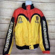 NASCAR Jacket Coat McDonald's Bill Elliott #94 Men's XL Racing Vintage