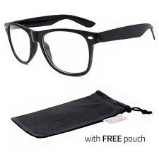 Men Women Clear Lens Nerd Retro  Geek Unisex Glasses Fashion Eyewear P